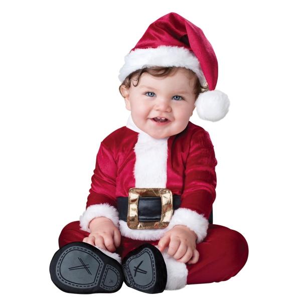 クリスマスにはサンタのコスチューム